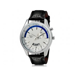 VaLia  8252 Модные мужские Аналоговые часы с датой (белый)