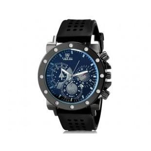VaLia 8235 часы с Отображение календаря  (черный)