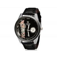 Купить VaLia 8236  Аналоговые часы с Отображение календаря (черный)