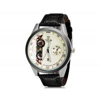Купить VaLia 8236  Аналоговые часы с Отображением календаря  (белый)