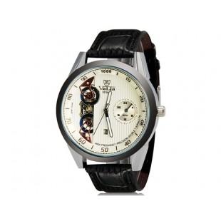 VaLia 8236  Аналоговые часы с Отображением календаря  (белый)