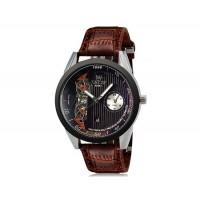 VaLia 8236  часы с Отображение календаря (коричневый)