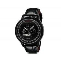 Купить VaLia 8237 Модные мужские Аналоговые часы с датой (черный)