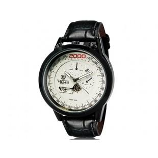 VaLia 8237 Модные мужские Аналоговые часы с датой (белый)