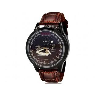 VaLia  8237 Модные мужские Аналоговые часы  (коричневый)