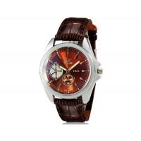 Купить VaLia 8182 Кварцевые часы  (коричневый)
