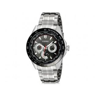 Curren 8150  аналоговые часы с календарем  (белый и черный)