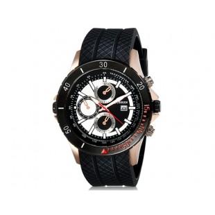 CURREN 8143  часы с датой  (черный)