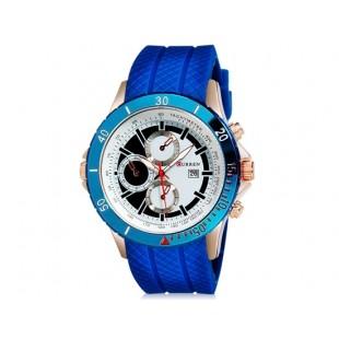 CURREN 8143 часы с датой  (синий)