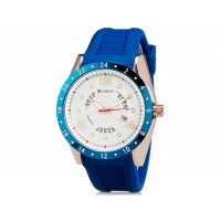 CURREN 8142  водостойкие наручные часы с функцией календаря  (синий)