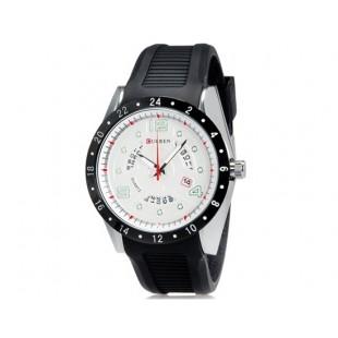 CURREN 8142 водостойкие наручные часы с функцией календаря  (белый)