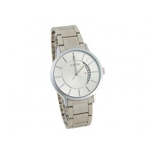 SINOBI 9309 Мужские наручные часы с календарем (белый)