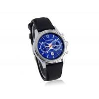 CURREN 8066 мужские наручные часы с календарем (голубой)