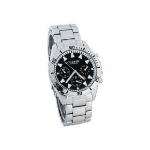 CURREN 8039 Мужские наручные часы с календарем (черный)