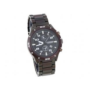 CURREN 8021 наручные часы с календарем (черный)