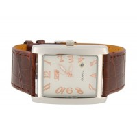 Купить SKMEI 6859 Стильный водостойкой Аналоговые часы с датой (кофе)