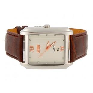 SKMEI 9053 Стильный водостойкой Аналоговые часы с датой (кофе)
