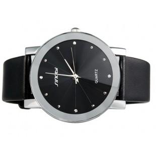 Sinobi 981 кварцевые часы унисекс ( BLACK, черный)