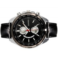 DINIHO 5002G Мужские  наручные часы с простым дизайном (черный)