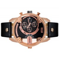 Купить CAGARNY 6819 Unisex модно Большая Круглый циферблат аналогового наручные часы с календарем и усилителя; PU Группа