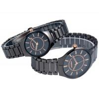 Купить SINOBI 9442 парные часы для мужчины и женщины (черный, золтой)