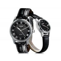 МАЙК 8151 Модные Аналоговые Пару часов (черный) М.