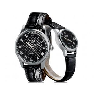МАЙК 8151 Модные Аналоговые Пару часов (черный) М. артикул YW1413B