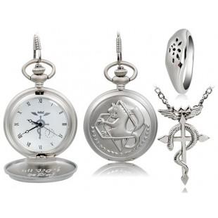 Карманные часы кольцо и колье