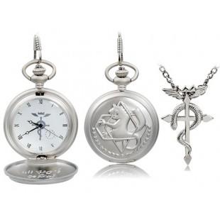 Карманные часы и колье