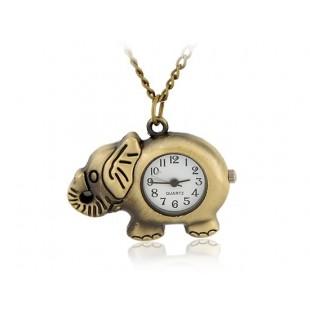 Слон  подвеска  Часы