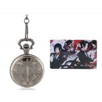 Черный Батлер карманные часы с картой