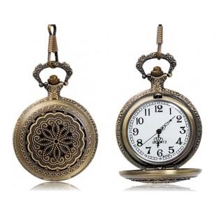 Цветочный дизайн карманные часы