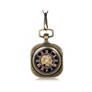 Квадратные карманные часы