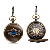 Blue Crystal Механические карманные часы