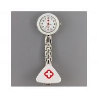 Стиль Медсестра Кварцевые часы с Clip (белый)