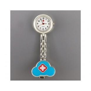 Стиль Медсестра Кварцевые часы с зажимом (синий)