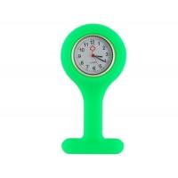 Силиконовые  часы с Брошь  (зеленый)