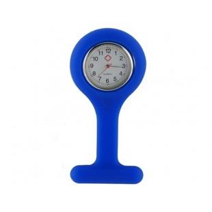 Силиконовые  Кварцевые часы с Брошь  (фиолетовый)