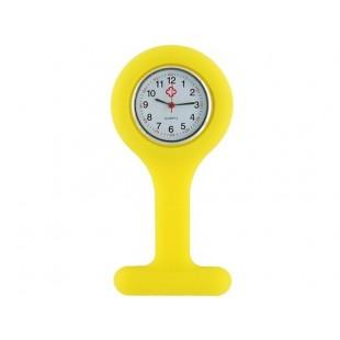 Силиконовые  часы с Брошь  (желтый)