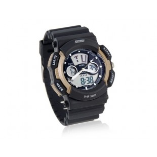 SKMEI водонепроницаемые  Спортивные наручные часы с календарем, секундомером