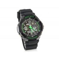Skmei 0931 Стильные светодиодные Дайвинг Часы (зеленые)