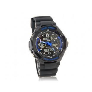 SKMEI 0931 Стильные светодиодные Дайвинг часы (синие)