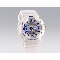 SKMEI 0929 Стильные светодиодные Дайвинг часы (белые)