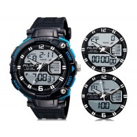 Купить Так AK1391 50m водонепроницаемые спортивные часы с силиконовым ремешком (синие)