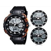 Купить Так AK1391 50m водонепроницаемые спортивные часы с силиконовым ремешком (оранжевый)