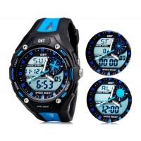 Купить Так AD1304 50m водонепроницаемые спортивные часы с силиконовым ремешком (синие)