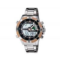 WEIDE 1104 мужские 30 м водонепроницаемые Аналоговый и цифровой дисплей спортивные часы (Champagne Gold)