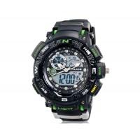 Подобно AK1389 спортивные часы с силиконовым ремешком (зеленые)