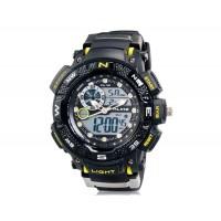 Подобно AK1389 спортивные часы с силиконовым ремешком (желтый)