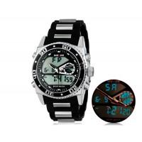 WEIDE 2316 30 м Водонепроницаемые светодиодные спортивные часы (черные)